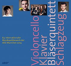 CD Cover ARD-Musikwettbewerb 2014