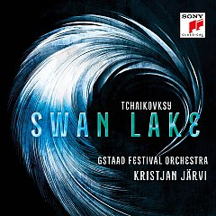 CD Cover Swan Lake